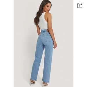 NWT Levi's Ribcage Straight Ankle, Tango Gossip